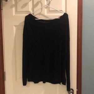 Lululemon size 8 sweater black